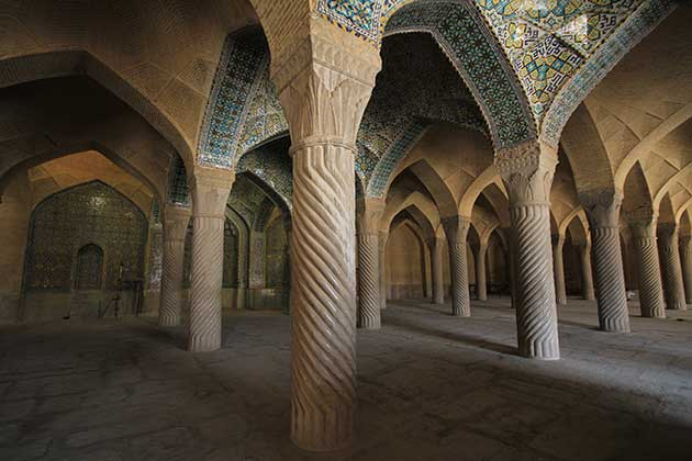 shiraz vakil mosque sightseeing